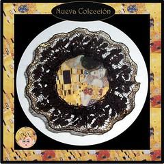 Broche El Beso de Klimt
