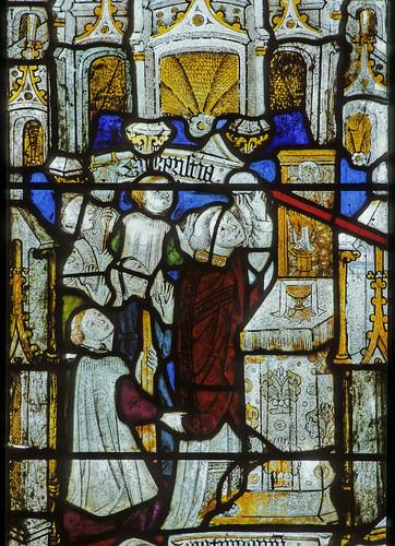 Doddiscombsleigh, Devon, nII, 3a, Eucharist