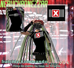 NDN - Suicide Commando T-Shirt