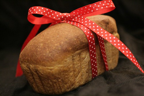 Homemade Pumpernickel Loaf