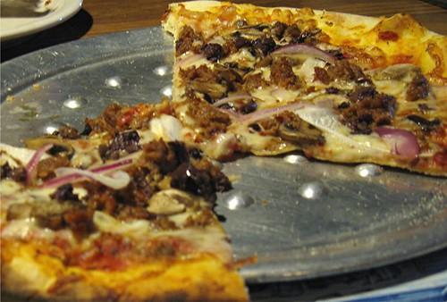 McGlinn's sausage pizza