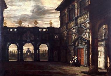 Courtyard at the Rubenhuis