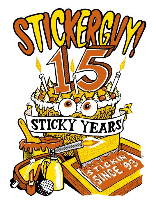 15 Sticky Years