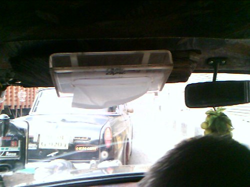 last mile idea: tissue box in cab