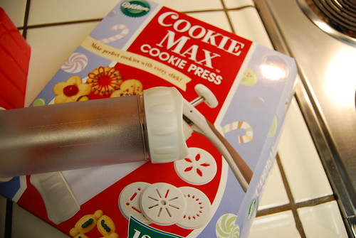 Stupid cookie press