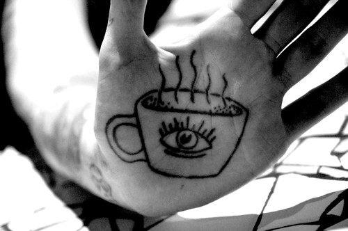 Eye Tattoo on Palm of Hand Eye Tattoo on Palm of Hand