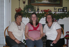 Three Generations - Mrs. Joyce, Kelly, and Mrs. Becky