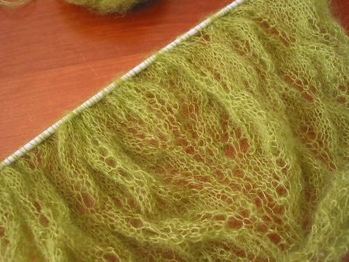 Kiri shawl in kidsilk haze