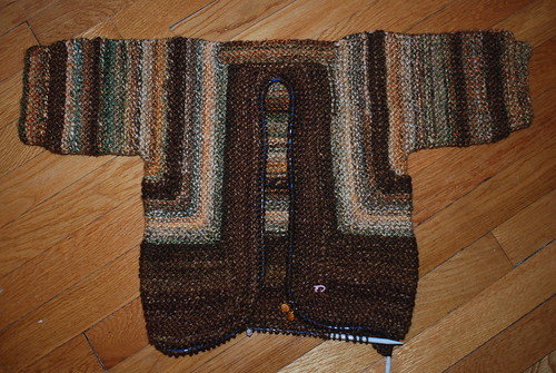 Dragon Surprise Jacket, not quite finished