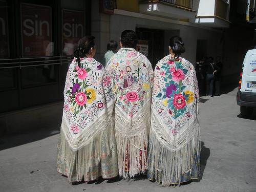 Mocadors de seda del traje de novia