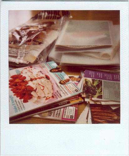 recipe filing mess