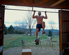Weighted Pull Ups with 24Kg Kettlebell