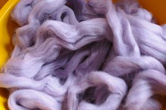 Lavender roving
