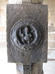 18.Vinayahar at the Pillar