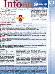 Revue de l'ONU - 60e anniversaire de la Déclaration universelle des droits de l'Homme (Ile Verte / Les Humains Associés)