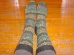 Neon Madness Socks - complete