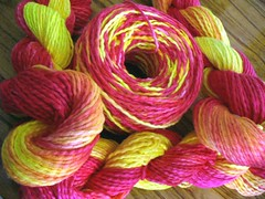 Handpainted Cotton Yarn
