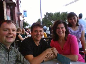 Kent Peterson, Chris Betcher, Linda Johannesson and Susan Sedroi
