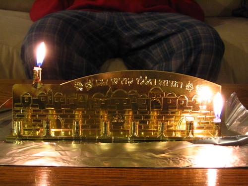Hanukkah 2007 - Night 1