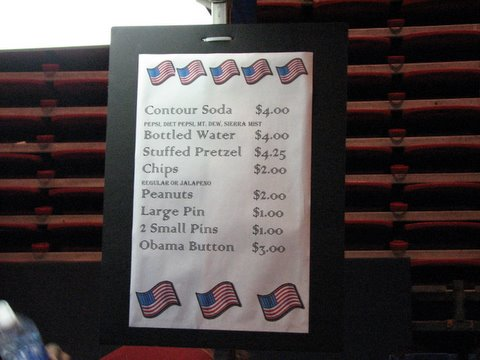 prices at the convention