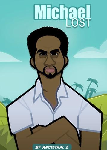 caricaturamichael_Lost