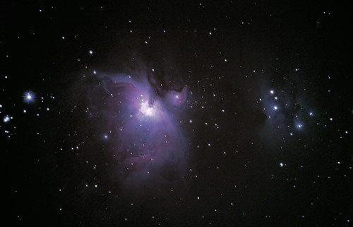 M42-The Great Orion Nebula 1hr 6m Composite