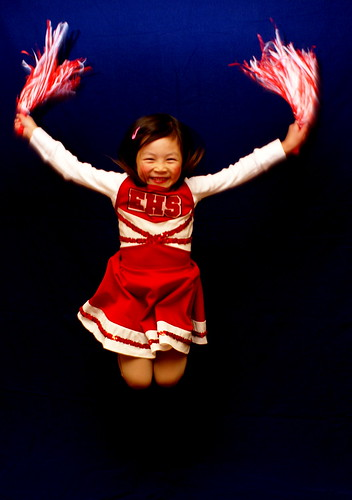 Kid Cheerleader