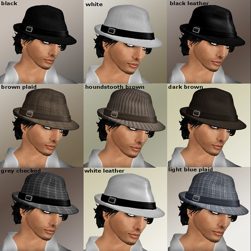 Fedora Hat all colours