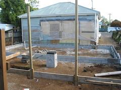 The Back Yard - In Progress