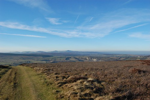 Llandegla Moors and Clwydian Range.