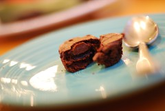 mmmmm. brownie