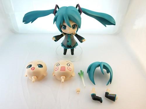 Hatsune Miku Nendoroid - Parts