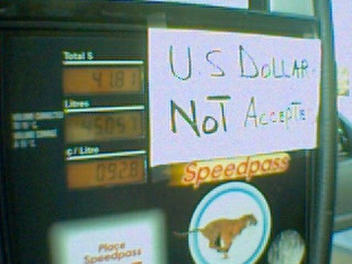 Parity - US Dollars Not Accepted