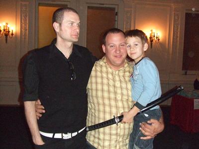 Rob Bell, Samurai Caden, Donny Pauling