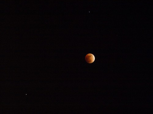 Saturn, moon, Regulas