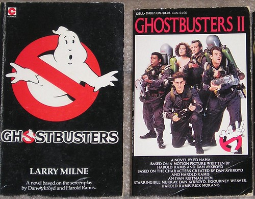 Ghostbusters movie novels