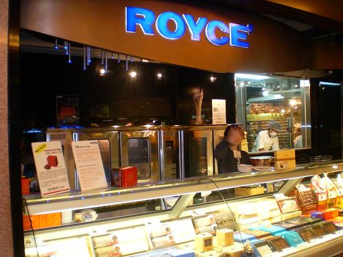 Royce counter