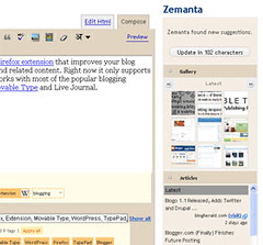 Blog better using Zemanta
