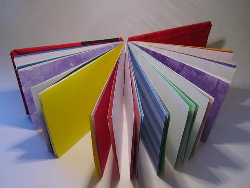 cloth book paper view
