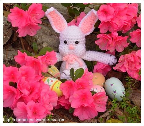 easter crochet bunny