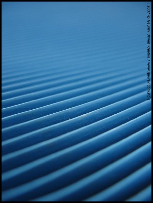 Line abstract V by Gaurav Dhwaj Khadka