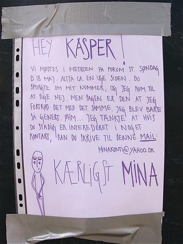Kære Kasper