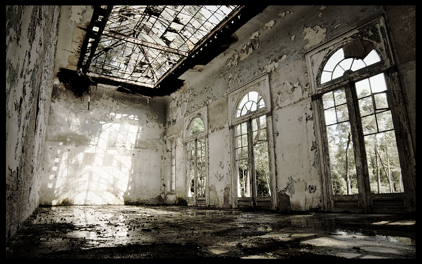 urbex urban exploration decay abandoned belgium infiltration belgique orangerie