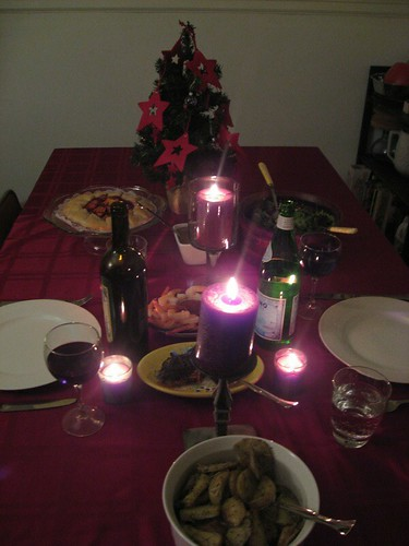Our fabulous Christmas dinner from 2007
