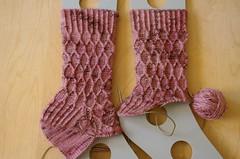 2 Snicket socks