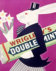 Vintage Wrigley's Doublemint Gum Poster by artcafe2008