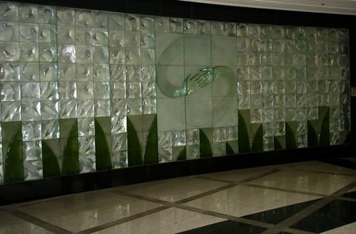 Seoul Subway Glasswork