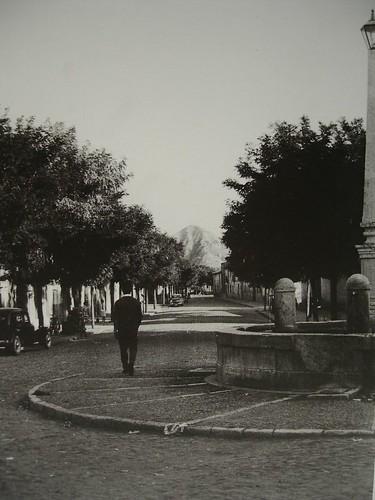 Calle Teniente Ruiz desde la Plaza de los Mártires