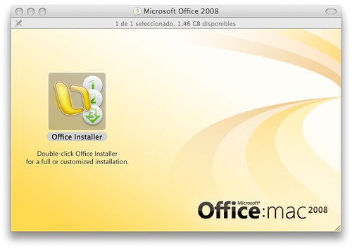 Mac Office 2008
