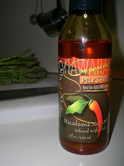 Macadamia Nut Oil infused w/ Chilies
